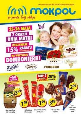 Gazetka promocyjna Mokpol - Z okazji Dnia Matki