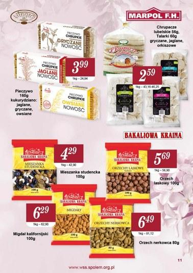 Gazetka promocyjna Społem WSS Śródmieście, ważna od 01.05.2018 do 31.05.2018.