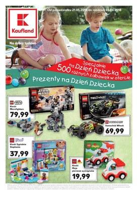 Gazetka promocyjna Kaufland - Prezenty na Dzień Dziecka