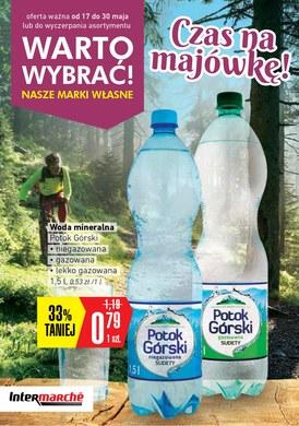 Gazetka promocyjna Intermarche Super - Czas na majówkę!