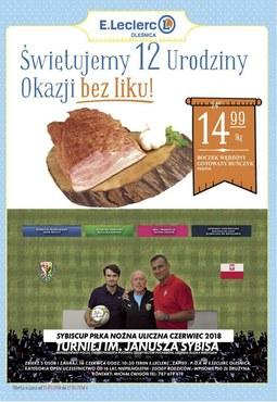 Gazetka promocyjna E.Leclerc, ważna od 15.05.2018 do 27.05.2018.