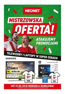Gazetka promocyjna Neonet, ważna od 17.05.2018 do 30.05.2018.