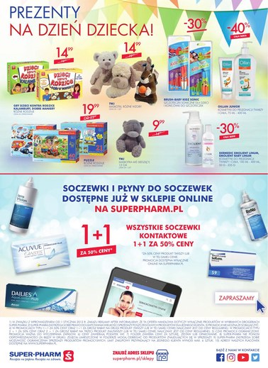 Gazetka promocyjna Super-Pharm, ważna od 17.05.2018 do 30.05.2018.