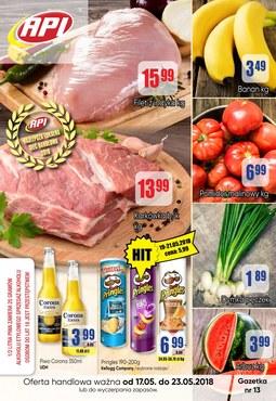 Gazetka promocyjna Api Market, ważna od 17.05.2018 do 23.05.2018.