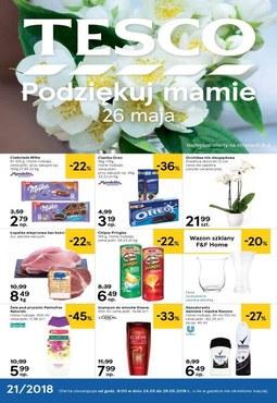 Gazetka promocyjna Tesco Hipermarket, ważna od 24.05.2018 do 29.05.2018.