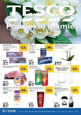 Gazetka promocyjna Tesco Hipermarket - Dzień Matki