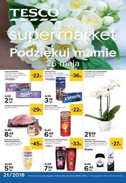 Gazetka promocyjna Tesco Supermarket, ważna od 24.05.2018 do 29.05.2018.