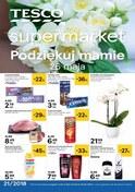 Gazetka promocyjna Tesco Supermarket - Oferty na Dzień Mamy - ważna do 29-05-2018