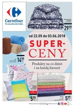 Gazetka promocyjna Carrefour, ważna od 22.05.2018 do 03.06.2018.