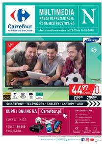 Gazetka promocyjna Carrefour, ważna od 22.05.2018 do 16.06.2018.