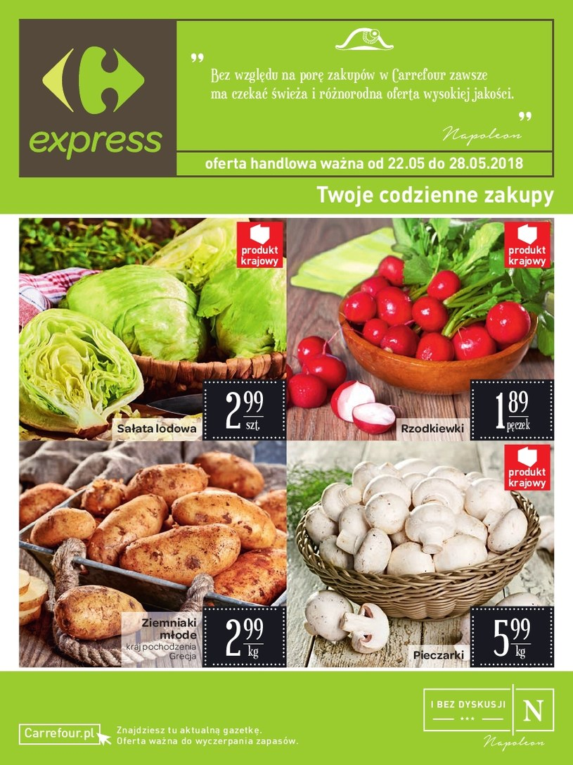 Carrefour Express: 5 gazetki