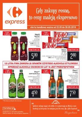 Gazetka promocyjna Carrefour Express - Gdy zakupy rosną, to ceny maleją ekspresowo