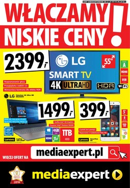 Gazetka promocyjna Media Expert, ważna od 21.05.2018 do 03.06.2018.
