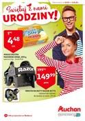Gazetka promocyjna Auchan - Świętuj z nami urodziny - ważna do 03-06-2018