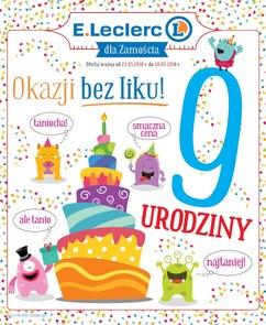 Gazetka promocyjna E.Leclerc, ważna od 22.05.2018 do 30.05.2018.