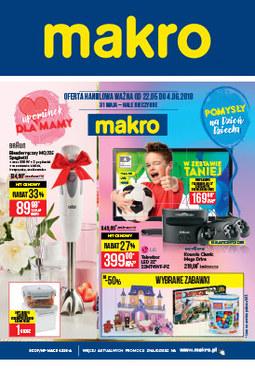Gazetka promocyjna Makro Cash&Carry, ważna od 22.05.2018 do 06.06.2018.