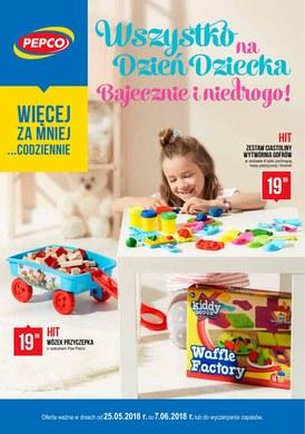 Gazetka promocyjna Pepco - Wszystko na Dzień Dziecka