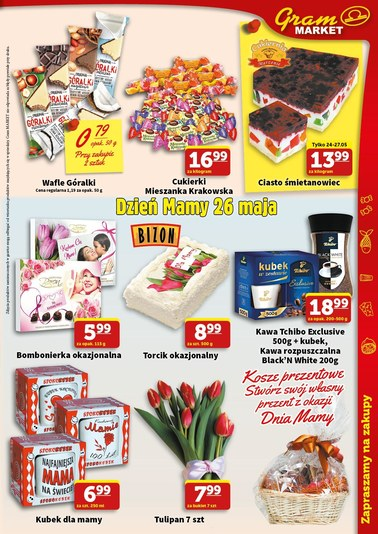 Gazetka promocyjna Gram Market, ważna od 23.05.2018 do 29.05.2018.