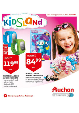 Gazetka promocyjna Auchan - Kids Land