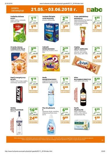 Gazetka promocyjna Eurocash Cash&Carry, ważna od 21.05.2018 do 03.06.2018.