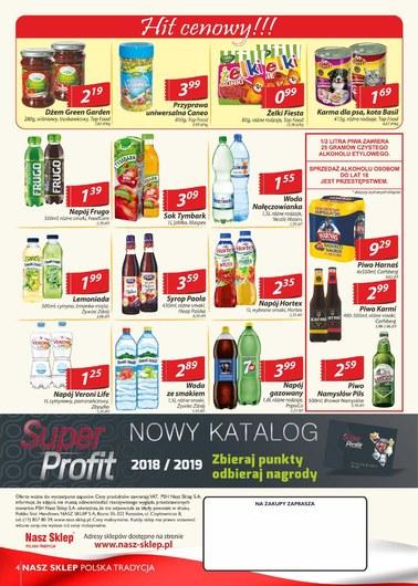 Gazetka promocyjna Nasz Sklep, ważna od 17.05.2018 do 27.05.2018.