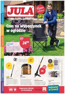 Gazetka promocyjna Jula, ważna od 23.05.2018 do 06.06.2018.