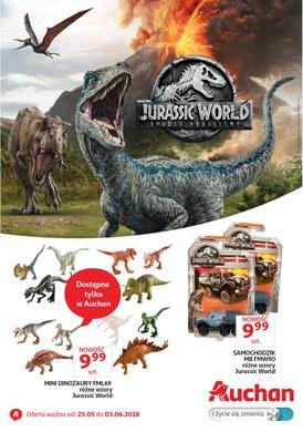 Gazetka promocyjna Auchan - Jurassic Park