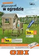 Gazetka promocyjna OBI - Wypoczynek w ogrodzie