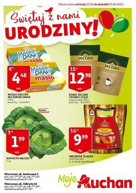 Gazetka promocyjna Auchan - Moje Auchan