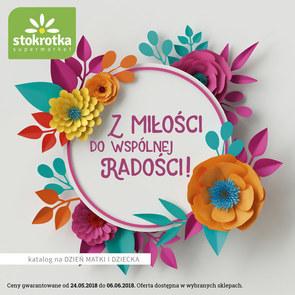Gazetka promocyjna Stokrotka, ważna od 24.05.2018 do 06.06.2018.