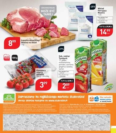 Gazetka promocyjna Stokrotka, ważna od 24.05.2018 do 29.05.2018.