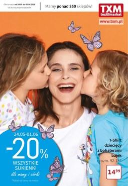 Gazetka promocyjna Textil Market, ważna od 24.05.2018 do 05.06.2018.