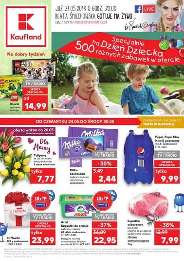 Gazetka promocyjna Kaufland, ważna od 24.05.2018 do 30.05.2018.