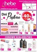 Gazetka promocyjna Hebe - Cenowe szaleństwo - ważna do 02-06-2018