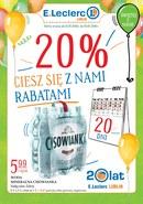 Gazetka promocyjna E.Leclerc - Oferta handlowa - Lublin