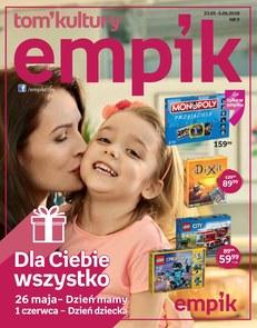 Gazetka promocyjna Empik.com, ważna od 23.05.2018 do 05.06.2018.
