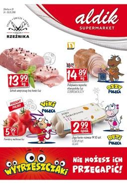 Gazetka promocyjna Aldik, ważna od 24.05.2018 do 30.05.2018.