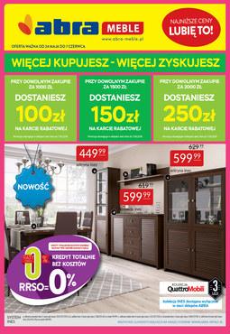 Gazetka promocyjna Abra, ważna od 24.05.2018 do 07.06.2018.
