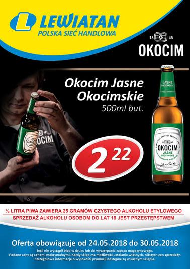 Gazetka promocyjna Lewiatan, ważna od 24.05.2018 do 30.05.2018.