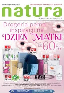 Gazetka promocyjna Drogerie Natura, ważna od 24.05.2018 do 06.06.2018.