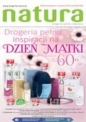 Gazetka promocyjna Drogerie Natura - Drogeria pełna inspiracji na Dzień Matki - ważna do 06-06-2018