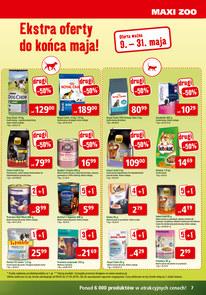 Gazetka promocyjna Maxi Zoo, ważna od 08.05.2018 do 31.05.2018.
