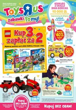"""Gazetka promocyjna Toys""""R""""Us, ważna od 24.05.2018 do 30.05.2018."""