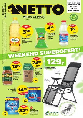 Gazetka promocyjna Netto - Weekend superofert