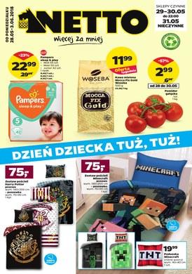 Gazetka promocyjna Netto - Dzień dziecka tuż, tuż!