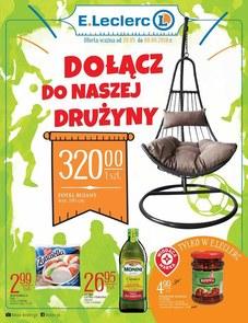 Gazetka promocyjna E.Leclerc, ważna od 29.05.2018 do 09.06.2018.