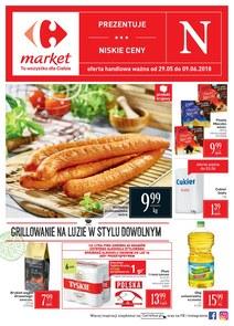 Gazetka promocyjna Carrefour Market, ważna od 29.05.2018 do 09.06.2018.