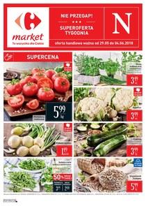 Gazetka promocyjna Carrefour Market, ważna od 29.05.2018 do 04.06.2018.