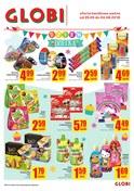Gazetka promocyjna Globi - Dzień dziecka - ważna do 04-06-2018