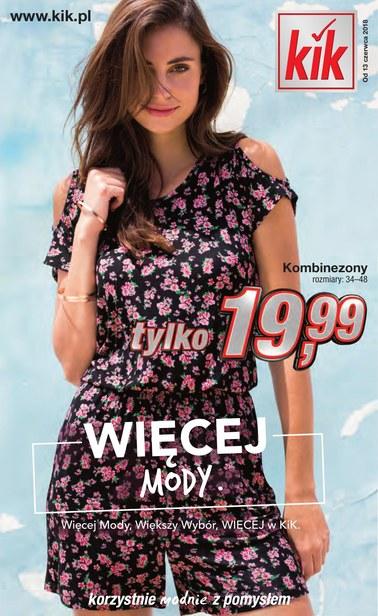 Gazetka promocyjna KIK, ważna od 13.06.2018 do 30.06.2018.
